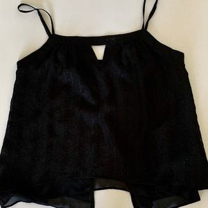 Med. Blk Guess Top